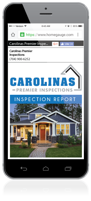 Homegauge CRL Digital Report Home Inspection